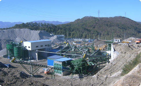 200tph Construction Waste Recycling Plant